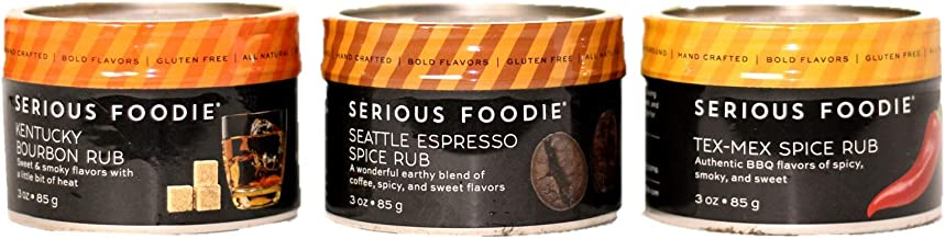 New! Spice Rubs for Cocktails (3-Pack)