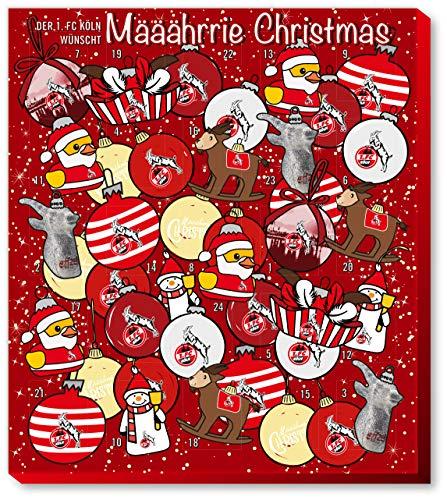 1. Bundesliga 1. FC Köln Premium Adventskalender mit Poster Weihnachtskalender