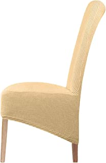 Stretch XL stoelhoezen voor eetkamerstoelen 2/4/6 stuks stoelbeschermhoes, elastische stoelbeschermhoezen voor eetkamer br...