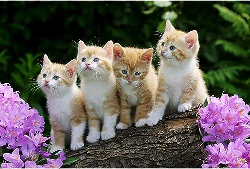 Puzzle House- JapanesePT japanische glückliche Katzen-Karikatur, h ernes Puzzle, sorgf ige Malerei des K chens , feiner Schnitt u -404 (Farbe   B, Größe   3000pc)