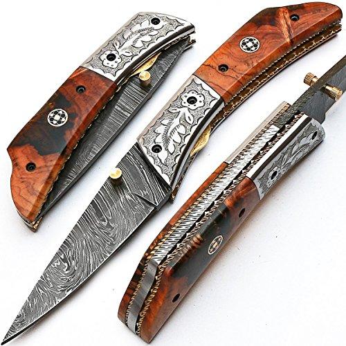 Cuchillo plegable, navaja de bolsillo, cuchillo hecho a mano...