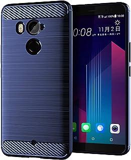 جراب XINKOE لهاتف HTC U11 Plus، غطاء رفيع للغاية [نحيف] [مضاد للخدش] [يمتص الصدمات] [متين] لهاتف HTC U11 Plus - أزرق