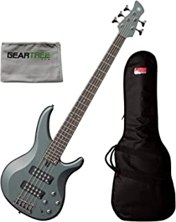 $399 Get Yamaha TRBX305 MGR Mist Green 5-String Bass Guitar w/Geartree Cloth and Gig Bag