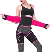 ACVCY 3 in 1 Waist Thigh Trimmer and Butt Lifter, Sweat Waist Trainer for Women Weight Loss Belly Elastic Workout Band Sli...
