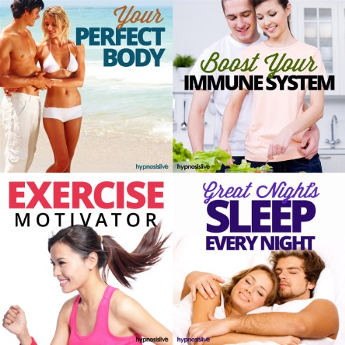 The Healthy with Hypnosis Bundle audiobook cover art