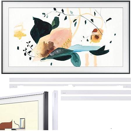 Samsung QN65LS03TA The Frame 3.0 65-inch QLED Smart 4K UHD TV (2020 Model) Bundle with Samsung VG-SCFT65WT/ZA (2020) 65-inch The Frame Customizable Bezel - White