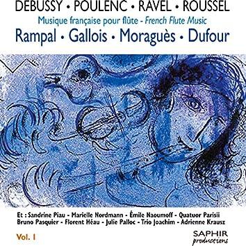 Debussy - Poulenc - Ravel - Roussel: Musique française pour flûte