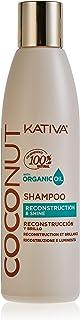 Kativa Coconut Champú Reconstrucción y Brillo - 250 ml