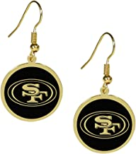 Siskiyou NFL unisex-adult Gold Tone Earrings