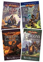 1. Dragons of Autumn Twilight – 2. Dragons of Winter Night – 3. Dragons of Spring Dawning – 4. Dragons of Summer Flame (DragonLance Chronicles 1 to 4)