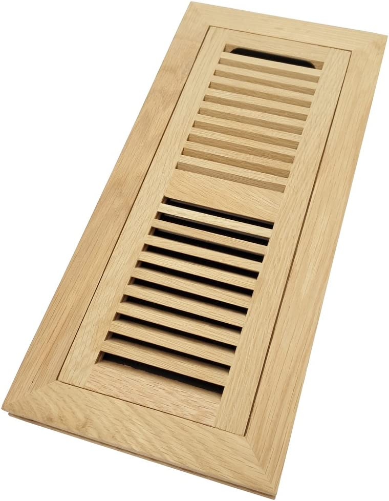 White Oak Wood At the price Flush Mount Floor Cheap sale Vent Register Cover Inch 4x14
