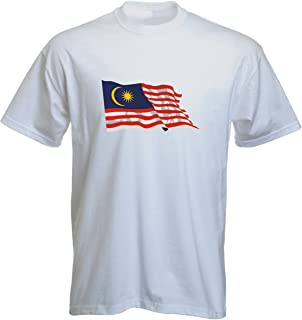 Black Dragon T-Shirt LS105 Flag / Banner multicolored Malaysia - Malaysia with Flag