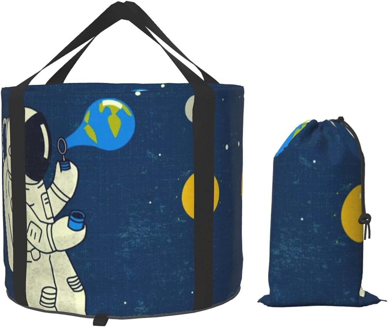VVEGACE Galaxy Spaceman Regular discount Astronaut Multifunct New Shipping Free Shipping Bucket Collapsible