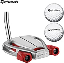 TaylorMade Men's Spider Tour Platnm Putter, Comes with 2 Balls
