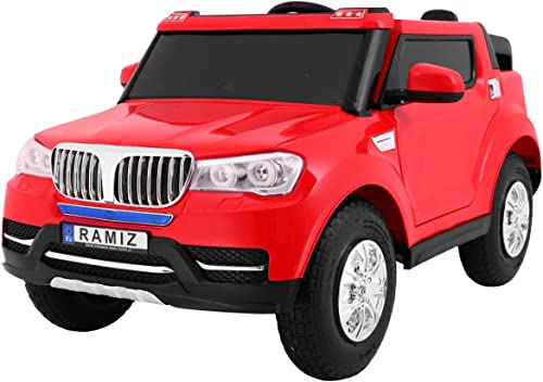 mas preferencial BSD Coche Electrico para Niños Auto Auto Auto Alimentado con Batería Vehículo Eléctrico Control Remoto - S8088 AIR Ruedas bombeadas dos plazas - rojo  edición limitada