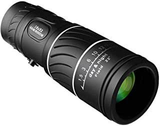 Monocular Telescope 16x52, Fdorla High Powered Monocular Scopes Dual Focus Optics Waterproof/Anti-Fog Spotting Scopes [Low-Light-Level Night Vision]For Outdoor Hiking, Hunting, Camping, Bird Watching