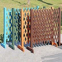 Expanding Wooden Garden Wall Fence Panel Plant Climb Trellis Partition Decorative Garden Fence for Home Yard Garden Decora...