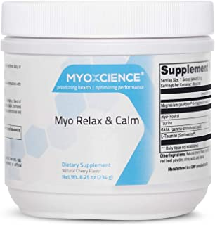 Sponsored Ad - Myo Relax & Calm, Unflavored| Myo-Inositol, L-Theanine, Taurine, Magnesium & GABA | Supports Sleep, Neurotr...