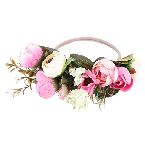 Cereoth Fairy Crown Adjust Hair Accessories Wreath Ceremony Party Wedding Photo Props