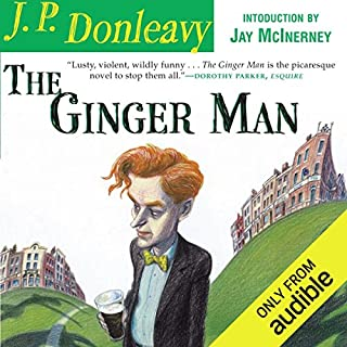 The Ginger Man audiobook cover art