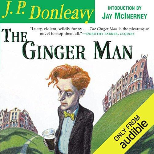 The Ginger Man audiobook cover art