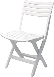 Cosmoplast Folding Chair - White