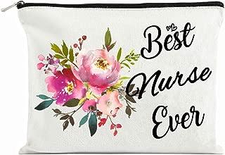 Nursing Student Gifts Nurse Practitioner Gifts for Women Nurses Week Gifts Nursing School Supplies Gifts Best Nurse Ever Cosmetic Bag Travel bag
