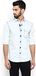 Mufti Men's Slim fit Casual Shirt