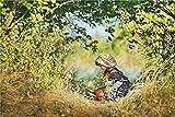 Rompecabezas para Niños Y Adultos 1000 Piezas, Una Niña Recoge Flores Silvestres En Una Canasta De Mimbre