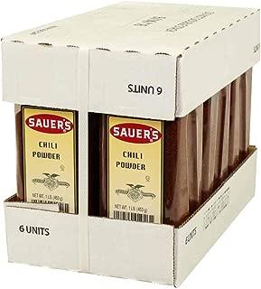 Sauers Chili Powder, 1 Pound -- 6 per case.