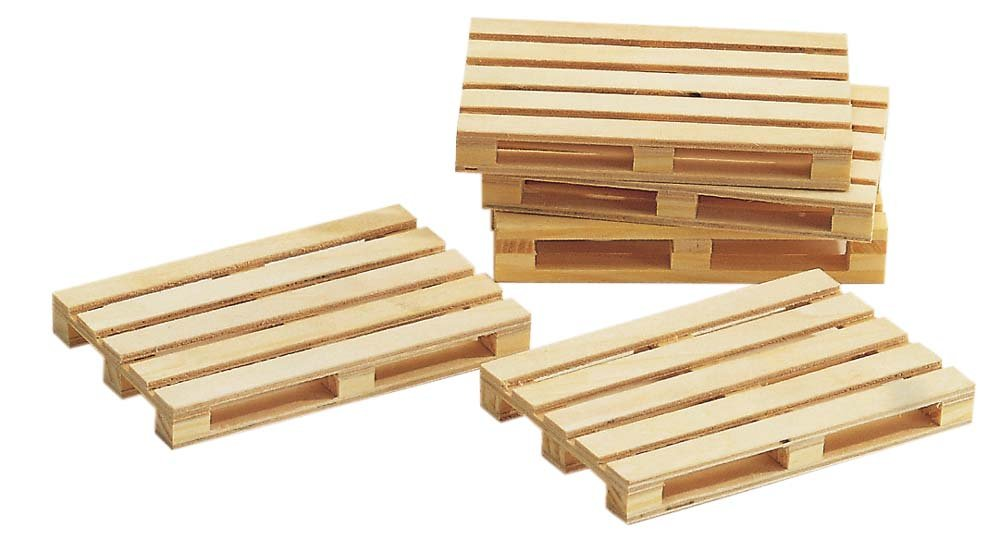 Buy Busch Wooden Pallets Scale Scenery Kit (5 Gms) Online at Low Prices in India - Amazon.in