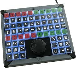 X-keys USB Jog & Shuttle Control for Editing or Instant Replay (68 Key, XK-68 JGS)
