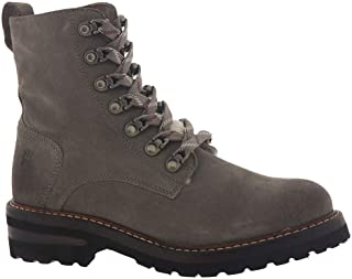 Frye Women's Ella Hiker Ankle Boot, Concrete, 9.5