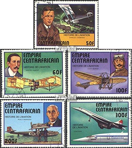 Prophila Collection Zentralafrikanische Republik 501-505 (kompl.Ausg.) 1977 Geschichte der Luftfahrt (Briefmarken für Sammler) Luftfahrt