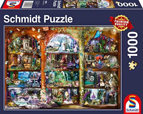 Schmidt Spiele 58965 Märchen-Zauber, 1.000 Teile Puzzle, bunt