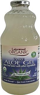 Lakewood Organic Fresh Pressed Juice, Pure Aloe Gel, 946ml