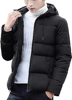 NCFBAG ダウンジャケット メンズ 中綿 ジャケット コート 冬 防風 防寒 厚手 フード付き アウトドア ジャケット 暖かい 大きいサイズ 春 秋