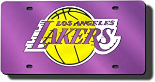 Rico Los Angeles Lakers Laser Tag License Plate