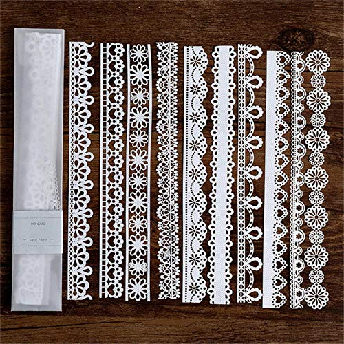 Kantpapier Hol Servies Decoratie Verpakkingspatroon Ronde Windowed Square Door Scrapbook Paper New 2019,6, Verenigde Staten