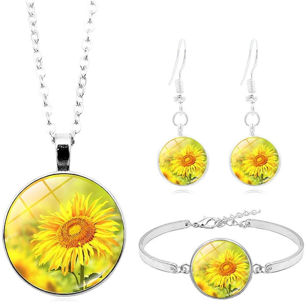 XMZ.Dhbro 3pcs Sunshine Necklace Direct sale of manufacturer Set service You My are Neckla
