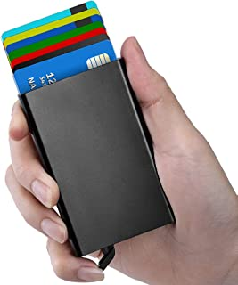 Credit Card Holder Protector Credit Card Wallet Slim RFID Metal Credit Card Case for Women Men