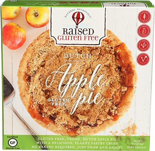 Natural Decadence, Frozen, Pie Dutch Apple 6 Inch Gluten-free, 9 Ounce