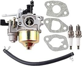 Leopop Carburetor for Harbor Freight Predator 212cc G200F 6.5 HP OHV Horizontal Shaft Gas Engine Pressure Washer Generator with Spark Plug Gasket