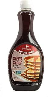 SweetLeaf Stevia Syrup, Maple, 24 Oz