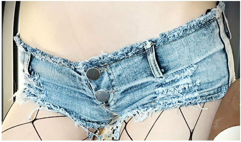 Ruiyue Women Shorts, New Summer Cowgirl Shorts Hot Pants Ultra Short Nightclub Sexy Hanging Irregular Button