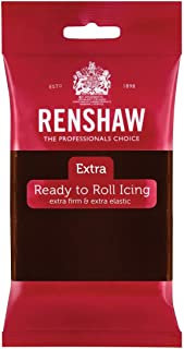 Renshaw Rolled Fondant Extra 250g -Sabor y Color Chocolate-