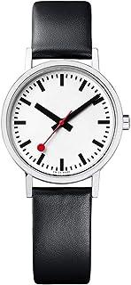 Mondaine - Classic - Reloj de Cuero Negro para Mujer, A658.30323.16OM, 30 MM