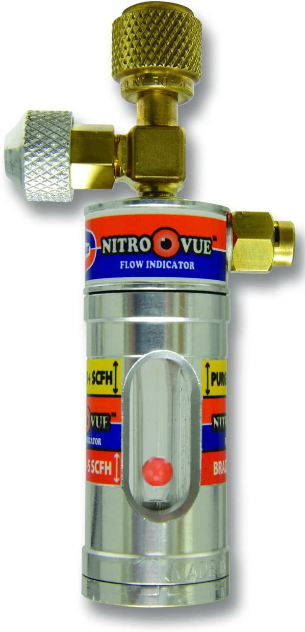 Uniweld NV1 NitroVue New popularity Nitrogen Flow gold o Indicator silver 7.7 Large special price