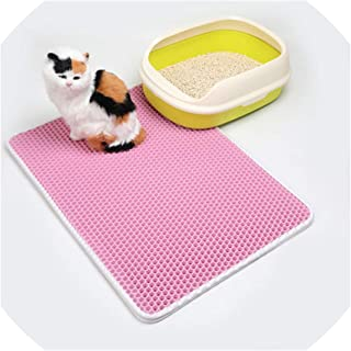 juan 9 Safe and Soft Cat Litter Mat Breathable Foam Use for Cats Litter Box Remove Litter from Cat Waterproof Pet Supplies