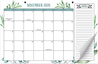 "Aesthetic Greenery Desk Calendar 17""x11"" - Desktop/Wall Calendar for Easy Planning, Incl. Year 2021"